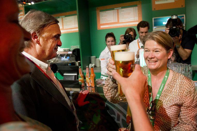 Charlene de Carvalho, de rijkste Nederlander in het buitenland. Beeld anp