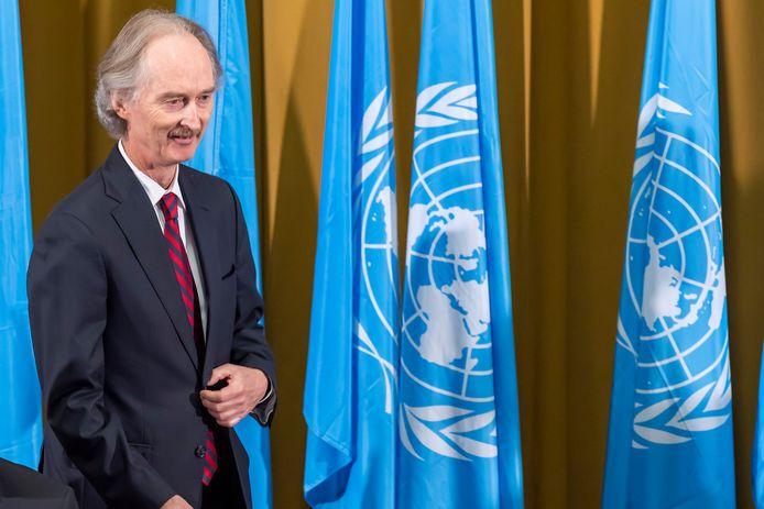 Geir Pedersen, de VN-gezant voor Syrië.