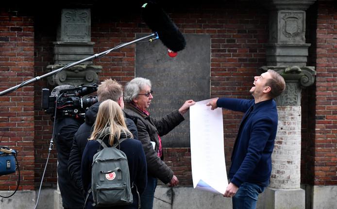 Armin van Buuren ontdekt tijdens de opnames van Verborgen Verleden dat hij een verre nazaat is van Graaf Otto 1, de stichter van Buren.
