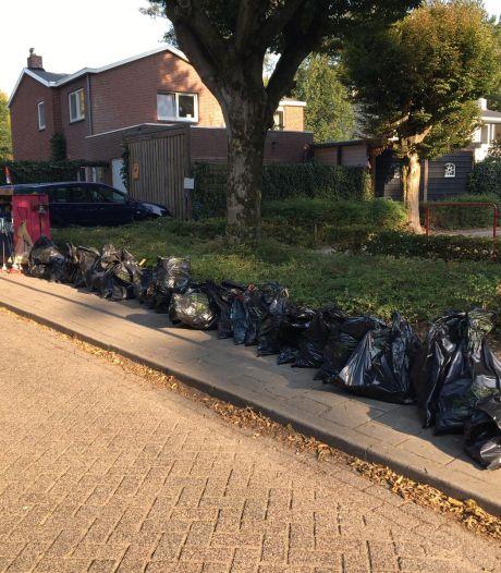 Zwerfvuilactie van 7-jarige Joep uit Vught leidt tot ruim dertig volle vuilniszakken