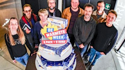 De Warmste Week in Ieper: van stand-upcomedy tot 'De Flemish Beer Run'