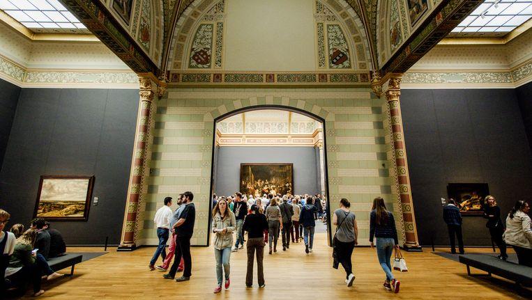 Nederlandse musea, waaronder het Rijksmuseum, zijn begonnen met het aanpassen van omschrijvingen 'die echt niet meer kunnen. Beeld ANP
