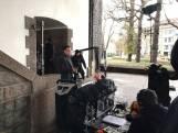 Wilhelminabrug in Deventer verandert in filmset voor opnames 'Deventer moordzaak'