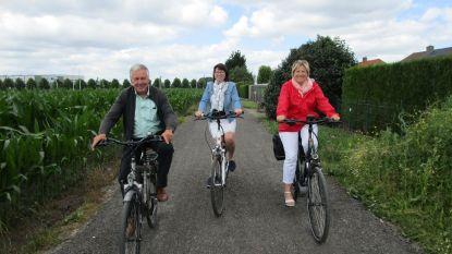 Veilig fietsen van Renning naar Lievepad