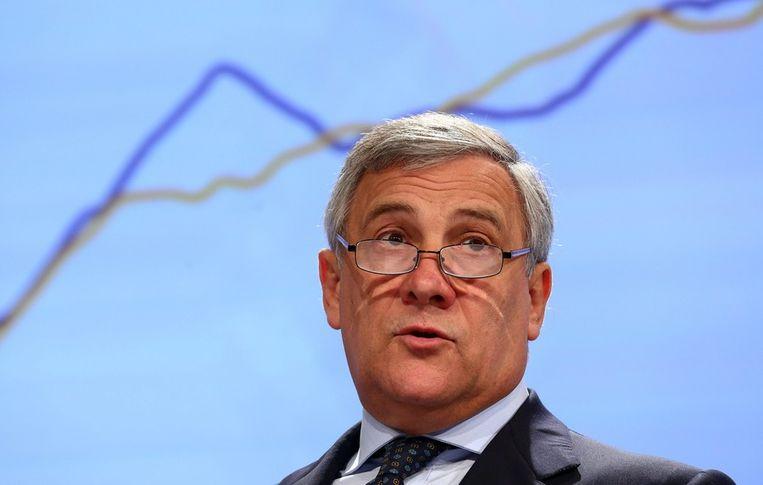 Antonio Tajani, eurocommissaris voor Industrie.