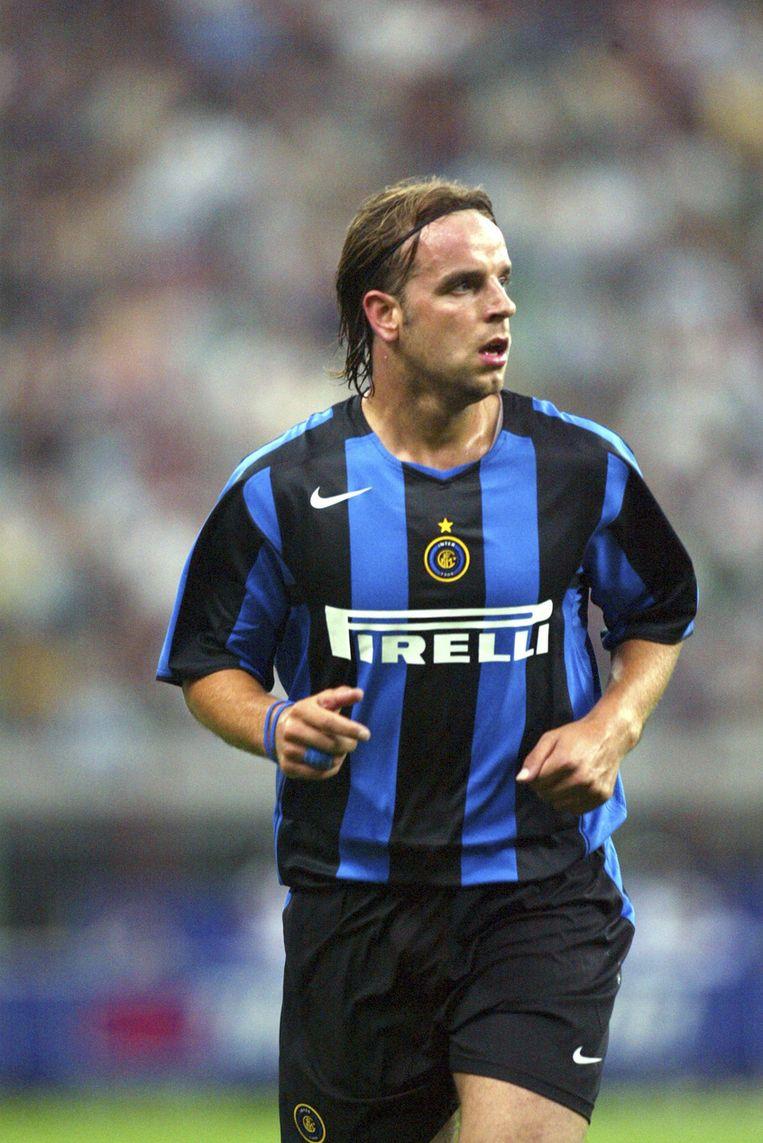 Van der Meyde tijdens zijn periode bij Inter (2004-2005).