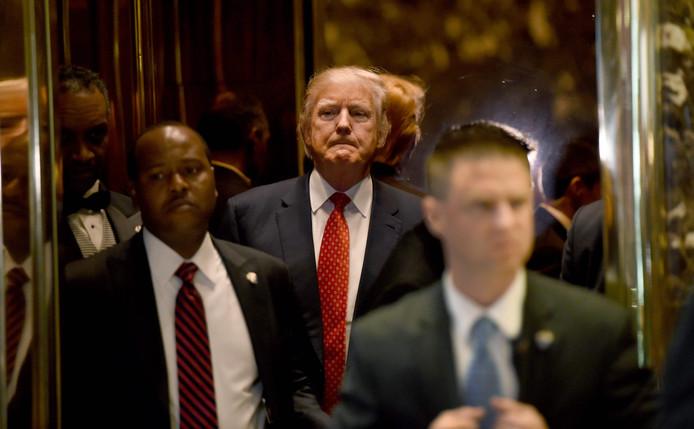 Donald Trump onder vuur.