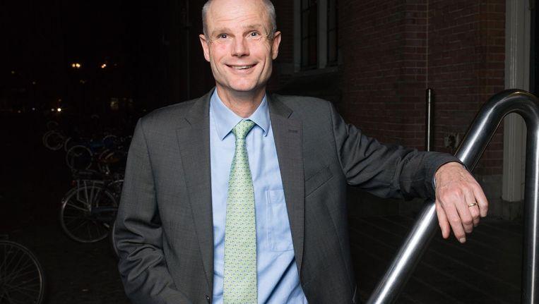Minister Stef Blok: 'Ik vind het volkomen logisch dat iemand met een baan in de stad voorrang krijgt voor een huis in de buurt. Maar Amsterdam laat dit liggen. Dat vind ik gek' Beeld Ivo van der Bent