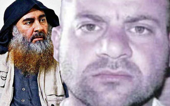 Abu Bakr al-Baghdadi (à gauche) a été tué lors d'un raid des forces spéciales. Les services de renseignement ont identifié le nouveau leader de l'EI (à droite).
