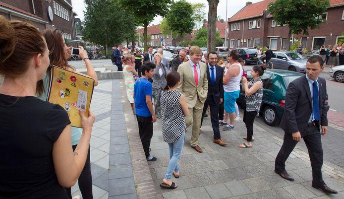 Er was de afgelopen jaren ook positieve aandacht voor de Bennekel. Koning Willem Alexander kwam er in 2017 op werkbezoek.