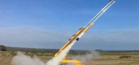 Leger lanceert nu ook drones met raketten vanaf artillerieschietkamp 't Harde