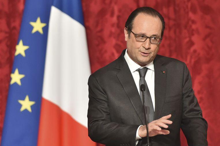 President François Hollande Beeld reuters