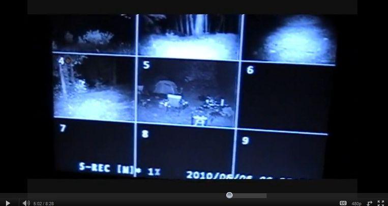 De YouTube video die de groep maakte van hun Bigfoot trip. Beeld