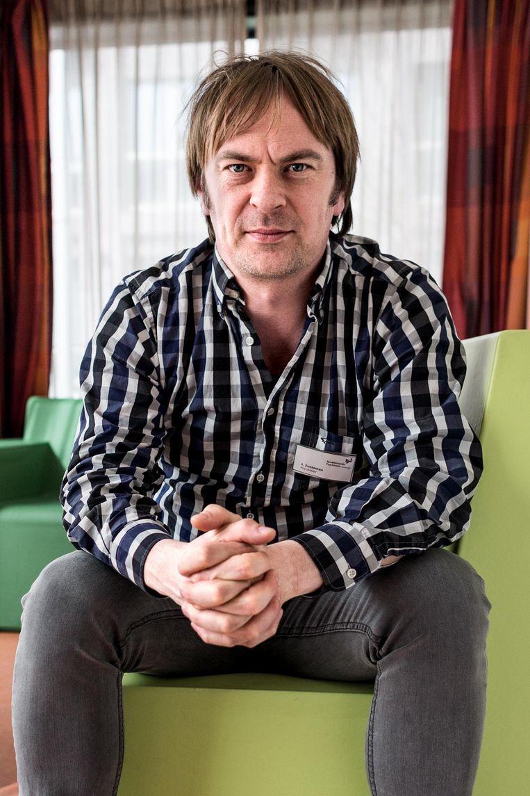 Jeroen Zoeteman, psychiater en manager bij de Spoedeisende Psychiatrie Amsterdam. Beeld Rink Hof