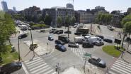 Op dit plein voelen de Brusselse fietsers zich het onveiligst