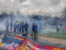 Politie grijpt in bij Youtube-bijeenkomst in Griftpark
