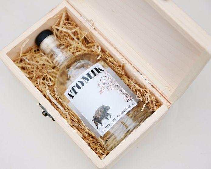 La vodka Atomik est produite à base de seigle et d'eau de la zone d'exclusion de Tchernobyl