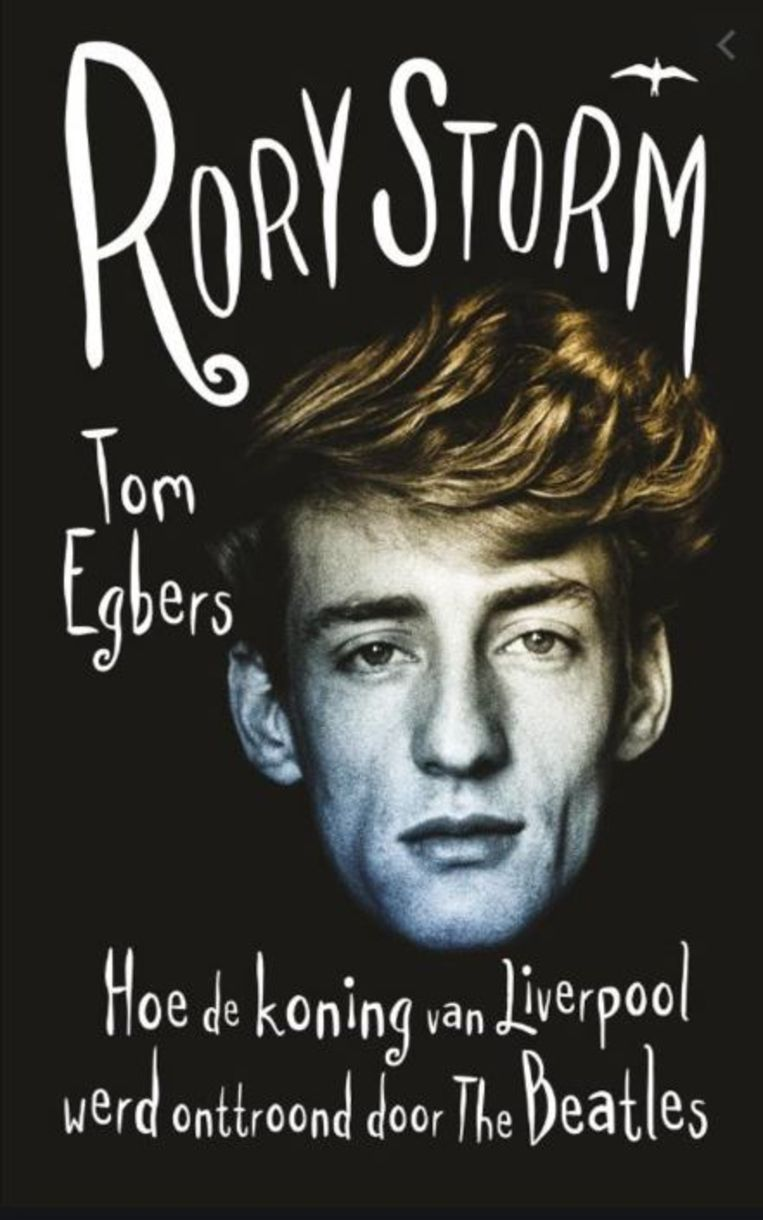 Rory Storm op de cover van het boek van Tom Egbers. Beeld Thomas Rap