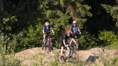 Nieuw mountainbikeparcours in bossen van Halle
