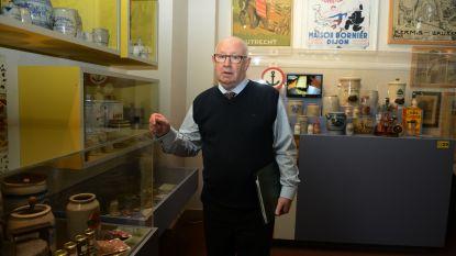 Verzamelaar André Delcart verkoopt collectie van 750 mosterpotten aan twee musea