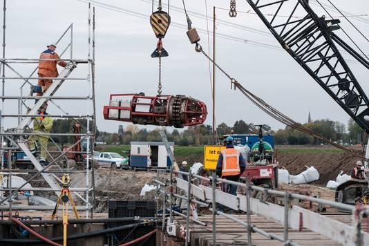 Voorbereiding van het verdiepen van de nog aan te leggen A15 in de Liemers.