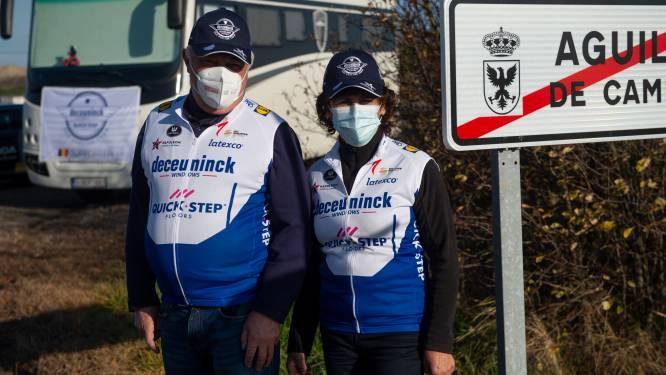 """Luc en Annie zijn misschien wel enige Belgische wielerfans die Vuelta volgen: """"Twee weken quarantaine achteraf hebben we er graag voor over"""""""