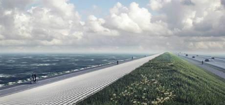 Stenen van 6500 kilo versterken Afsluitdijk