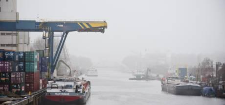Hengelo vraagt teveel havengeld voor groot containerschip