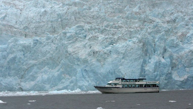Archieffoto: passagiersschip in Alaska. Beeld afp