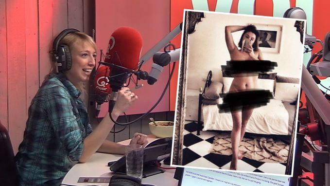 Evi Hanssen gaat naakt om 'sextortion' onder de aandacht te brengen