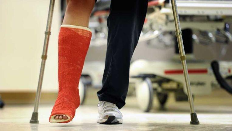 Spoedeisende hulp in het Sint Jansdal ziekenhuis in Harderwijk Beeld anp