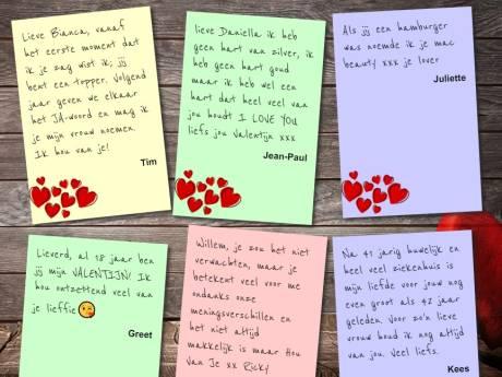 Boodschap voor jouw Valentijn: bekijk alle inzendingen