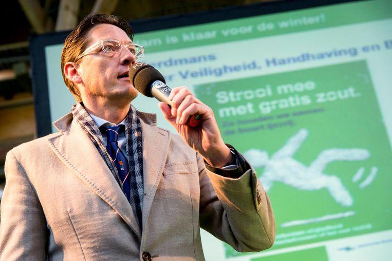 Joost Eerdmans van Leefbaar Rotterdam. Beeld anp