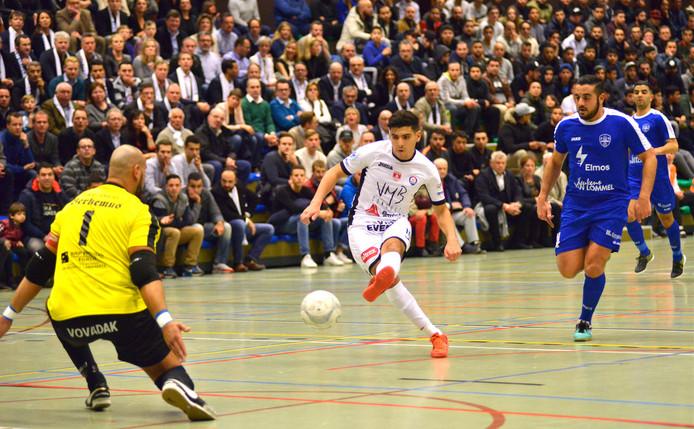 Saïd Bouzambou, hier in actie voor FT Antwerpen, speelt dit seizoen weer met Groene Ster Vlissingen in de eredivisie.