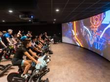 Fietsen in een virtuele wereld met The Trip in Eindhoven
