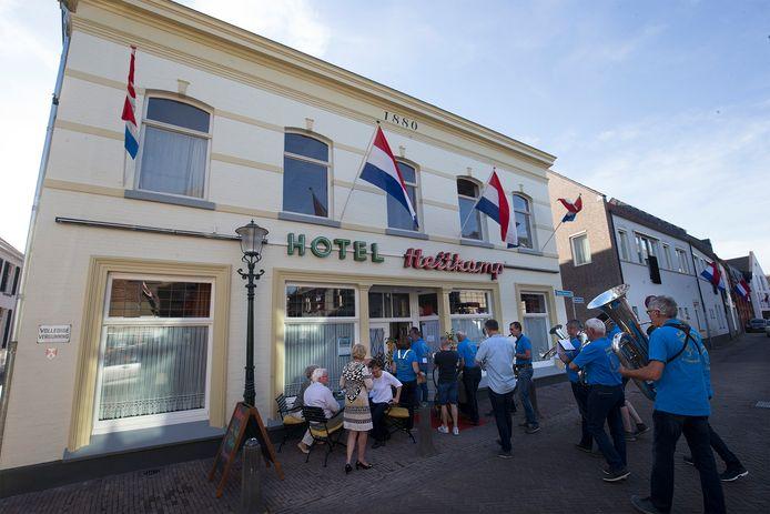 Het bij carnavalisten populaire hotel Heitkamp is dit jaar gesloten.