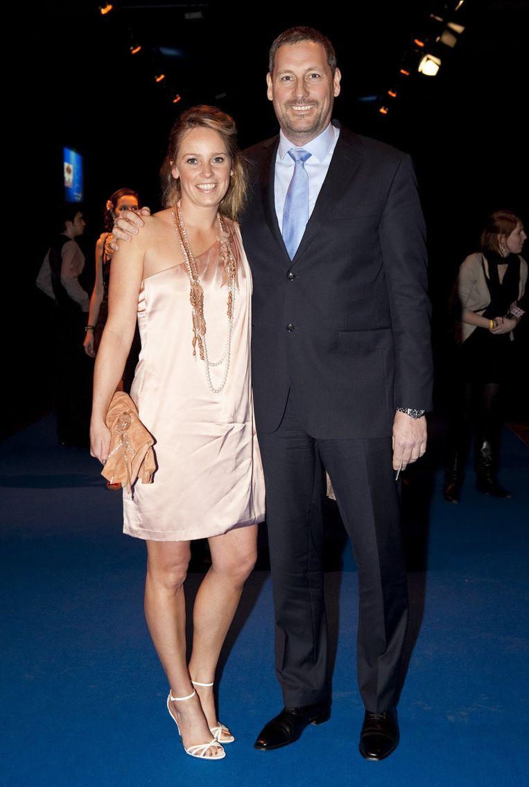 Gert Verhulst en Ellen Callebout.