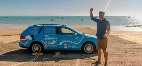 Gelukt: naar de andere kant van de wereld met een elektrische auto