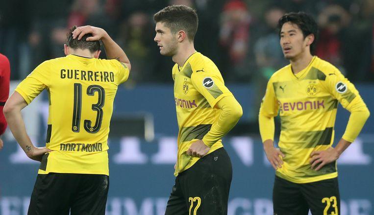 Borussia Dortmund met het schaamrood op de wangen naar de Europa League?