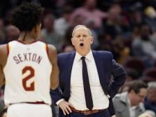 Cleveland Cavaliers ziet coach vertrekken: 'Negen maanden alles gegeven'