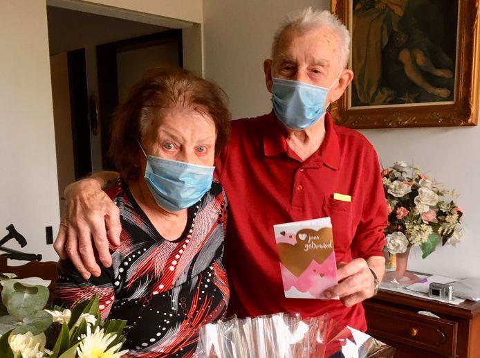 Julie en Camiel zijn 70 jaar gelukkig getrouwd.