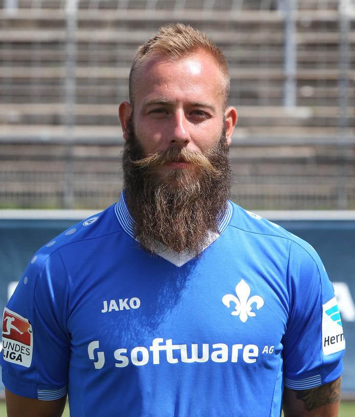 Marco Sailer in het shirt van SV Darmstadt 08.