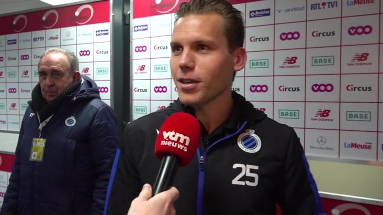 Ruud Vormer voor de camera van VTM Nieuws