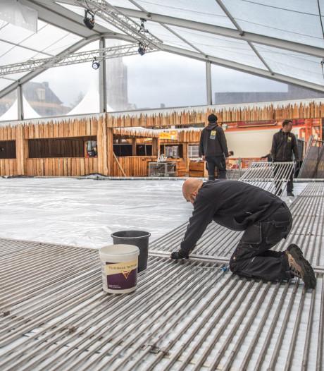 Geen ijsbaan in Zwolse binnenstad