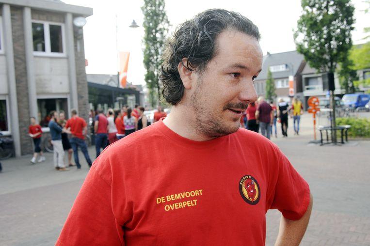 Stijns beste vriend Michael Vandersteen.