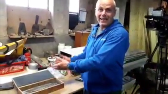Nils Kerkhoven vertelt over de 3D-print.
