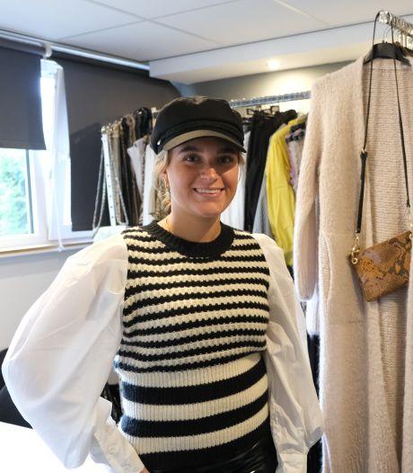 Sacha, pas 19, opent haar eigen winkel - van jongs af aan was ze al druk met kleding