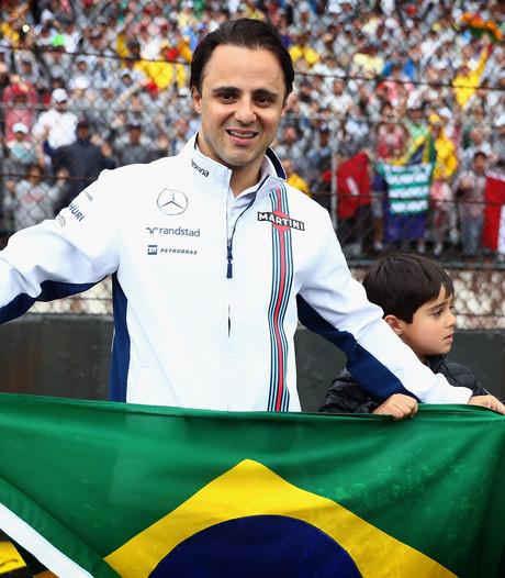 Felipinho heeft boodschap voor papa Felipe: 'Ik ben zo trots op je'