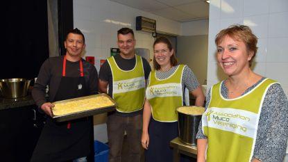 Spaghettifestijn bracht 13.000 euro in laatje voor mucopatiënten