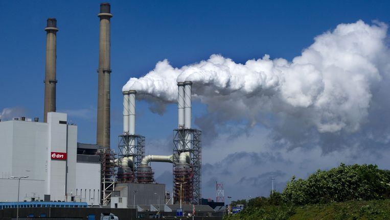 Energiecentrale EON op de Maasvlakte. Beeld Ed Oudenaarden, anp